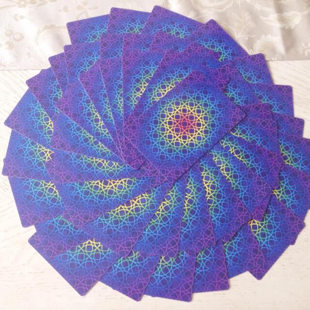 spirale cartes La Magie de la Vie